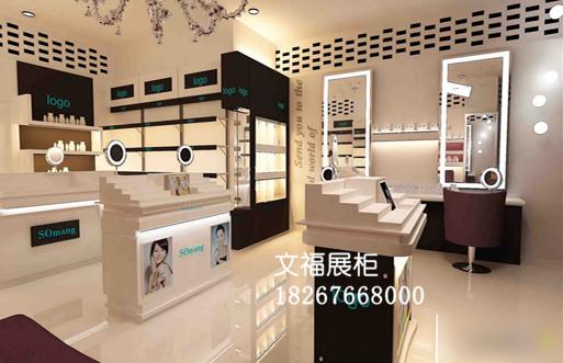 化妆品展示柜 (4)
