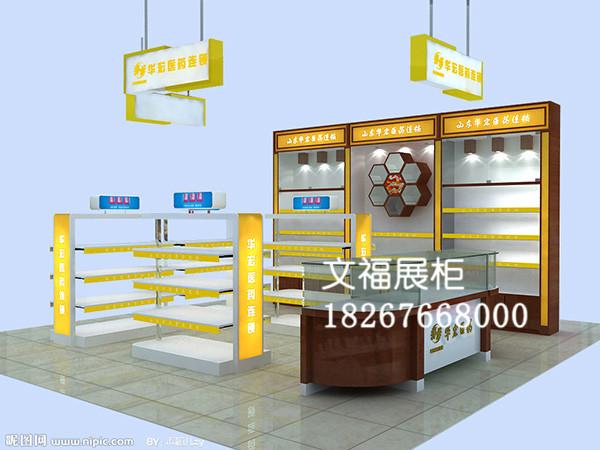 医药展柜 (1)